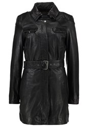Freaky Nation Manhattan Leather Jacket Black