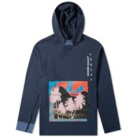 Ambush Waves Cap Hoody Blue