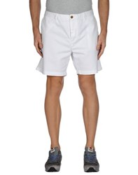 Burberry Brit Trousers Bermuda Shorts Men White