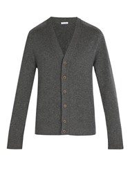Tomas Maier Cashmere Knitted Cardigan Grey