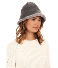 Ugg Lorien Cloche W Shearling Trim Grey Multi Cold Weather Hats Gray