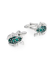 Saks Fifth Avenue Frog Cuff Links No Color