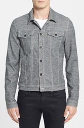 Joe's Jeans 'Revival' Denim Jacket Gray