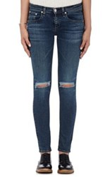 Rag And Bone Women's Skinny Jeans Blue Navy Blue Navy