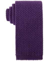 Brooks Brothers Men's Knit Tie Purple