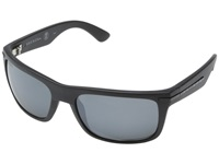 Kaenon Burnet Matte Black Grey Mirrored G12m Sport Sunglasses