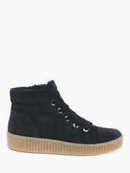 Gabor Messina Suede High Top Trainers Pacific