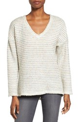 Kut From The Kloth Women's Akiko Rib Knit Top Ivory