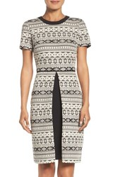 Maggy London Women's Fit And Flare Sweater Dress