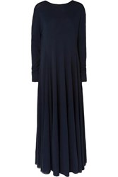 Jil Sander Jersey Maxi Dress Navy