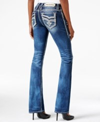 Rock Revival Vika Bootcut Medium Blue Wash Jeans