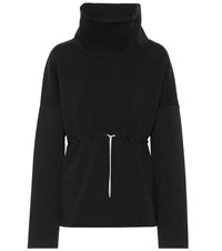 Varley Barton Funnel Neck Sweatshirt Black