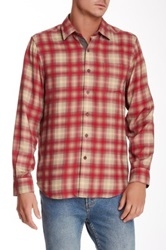 Nat Nast Forrest Through The Trees Silk Shirt Red
