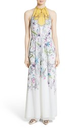 Ted Baker Women's London Ellly Passion Flower Maxi Dress