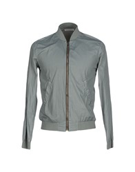 Daniele Fiesoli Coats And Jackets Jackets Men Grey