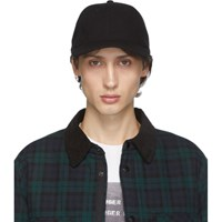 Rag And Bone Black Wool Archie Cap