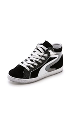 Studio Pollini High Top Sneakers Black