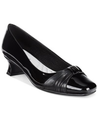 Easy Street Shoes Easy Street Waive Pumps Women's Shoes Black Patent
