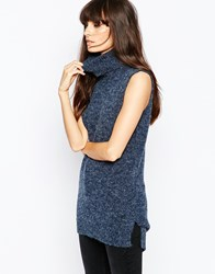 Vero Moda Sleeveless Roll Neck Blackiris