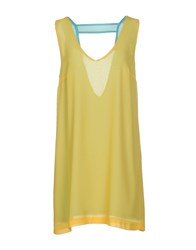 .. Merci Dresses Short Dresses Women Yellow
