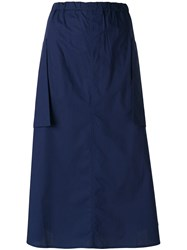 Sofie D'hoore A Line Casual Skirt Blue