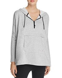 Puma Evo Hooded Cape Sweatshirt Light Heather Grey