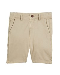 Mayoral Stretch Chino Shorts Beige