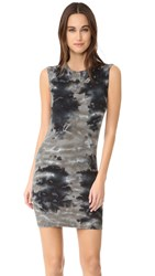Enza Costa Rib Sleeveless Mini Dress Utility Patina