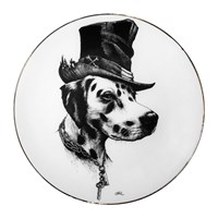 Rory Dobner Perfect Plates Brooklyn Black And White