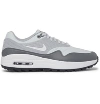 Nike Golf Air Max 1G Coated Mesh Golf Shoes Gray