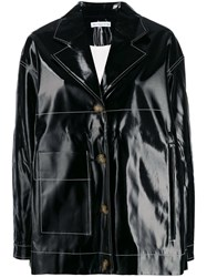Rejina Pyo Oversized Single Breasted Jacket Black
