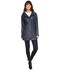 Ilse Jacobsen Lightweight Slicker India Ink Coat Gray