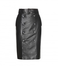 Each X Other Leather Pencil Skirt Black
