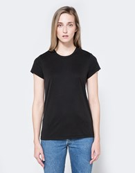 Which We Want Ribbed Tee In Charcoal