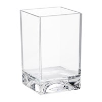 Kartell Square Toothbrush Holder Transparent