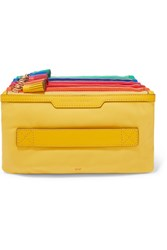 Anya Hindmarch Filing Cabinet Leather Pouch Yellow