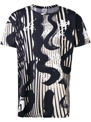 Vivienne Westwood Abstract Print T Shirt Men Cotton S Black
