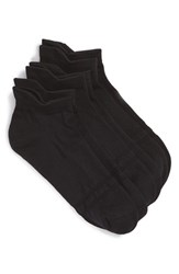Women's Sof Sole Low Cut Microfiber Performance Socks Black 3 Pack