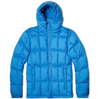 Aspesi Micro Fibre Down Filled Short Parka Bright Blue