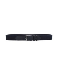 Hackett Belts Dark Blue