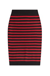 Marc By Marc Jacobs Striped Merino Wool Skirt Stripes