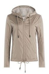 Closed Zipped Outdoor Jacket Gold