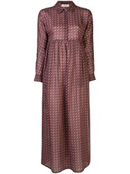 Rachel Comey Geometric Print Shirt Dress 60