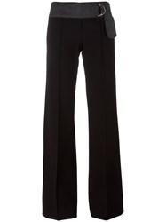 Dondup 'Trensy' Flared Trousers Black