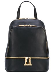 Baldinini Zip Backpack Women Leather One Size Black