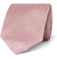 Tom Ford 8Cm Woven Tie Pink