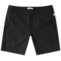 Onia Calder 7.5 Solid Swim Short Black