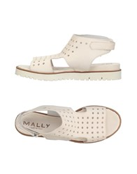 Mally Sandals Ivory