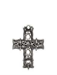 Emanuele Bicocchi Silver Cross Ring