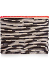 Sophie Anderson Lia Crocheted Cotton Pouch